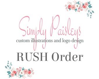 RUSH Order for Simply Paisleys Print Order