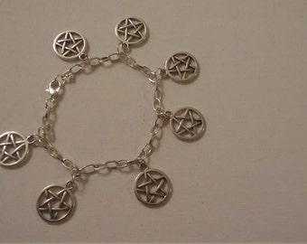 Pentacle Charm Bracelet