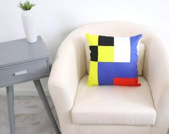MARITIME FLAG - LOVE Large Throw Pillow. Nautical Pillow. Decorative Pillows. Dorm Decor. Gifts for Him. Housewarming Gift.