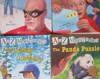 A to Z Mystery Series Paperback Books