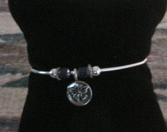 Free To Fly. Bangle Cuff Bracelet