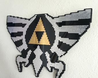 May the Tri(force) be with you - Legend of Zelda Wall Art