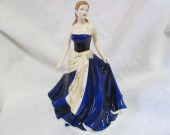 Vintage Royal  Doulton porcelain figurine - Pretty ladies - Olivia - Figurine of the year 2008