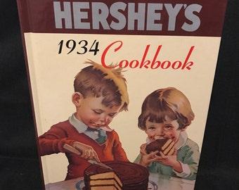 Vintage Hershey's Cookbook Recipes Vintage Cookbook Chocolate Recipes