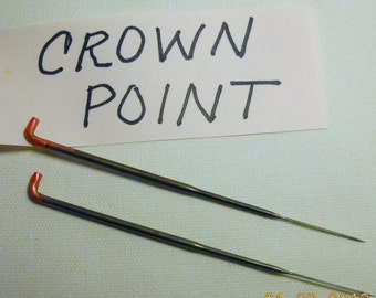 CRAZY Felting Needles 43 crown felt needle CROWN very fine point 4 pack color coded