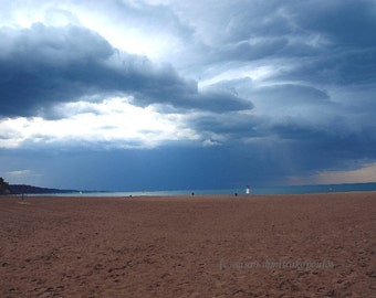 Toronto landscape, Bluffer's Park, Approaching Storm, wall art, home decor, Scarborough, Lake Ontario, Toronto Canada, gift 20