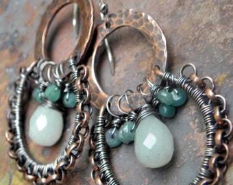 Gypsy Skirts earrings Tutorial, PurpleLily Designs