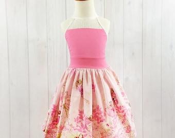 Pink Toddler Dress - Toddler Fairy Dress - Toddler Summer Dress - Girls Summer Dress - READY TO SHIP