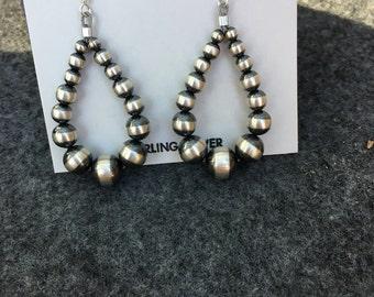 Desert pearl earrings