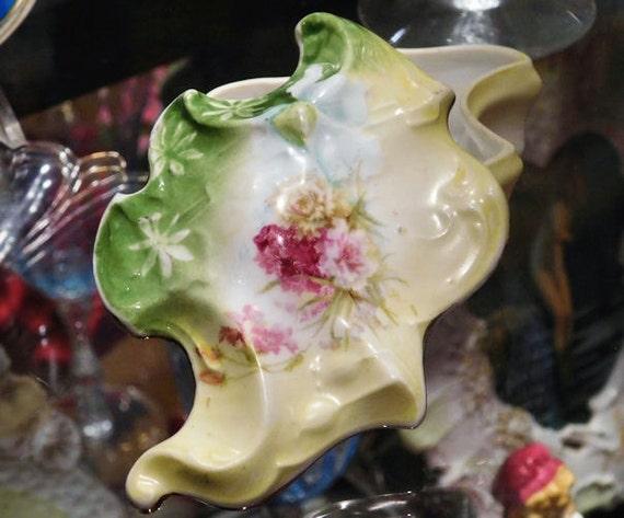 Antique RS Prussia / Porcelain Trinket Box