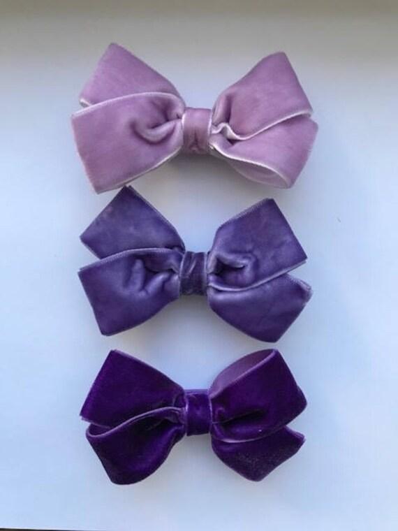 Purple Pack - Luxe Velvet Large Bow