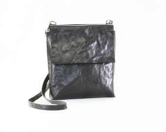 PORTEL  Black crossbody bag