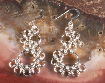 PDF Instructions For Lacy Skirt Earrings