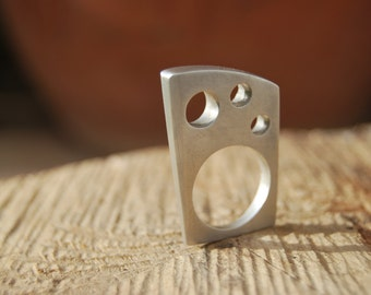 Sterling Silver Contemporary Ring