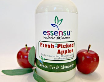 Fresh Picked Apples Daily Fortifying Multi-Protein Hair Conditioner   Builds Body , Bounce and Shine   Luxury Formula   No Parabens - 16 oz