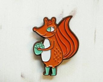 Squirrel Girl Enamel Pin