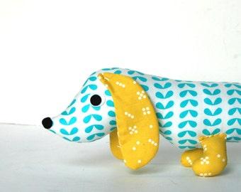 Wiener Dog PILLOW Softie for Kids Plush Toy Dachshund Baby Toy Stuffed Animal BEAUMONT