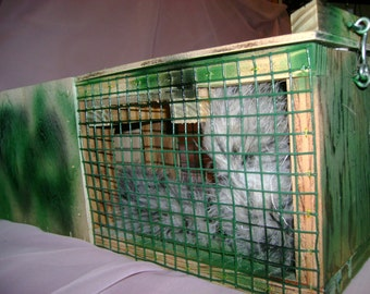 GAG Gift called a Mongoose Cage...Handmade for any part of the house~!  A MUST HAVE..