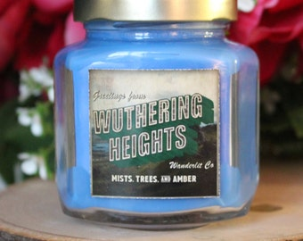 Wuthering Heights | Book inspired 6oz soy candle
