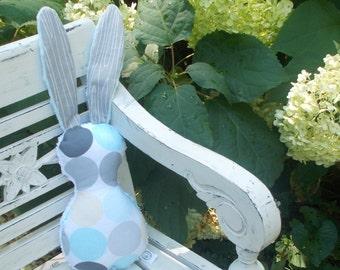 Haze Disco Dots Bits The Bunny Plush Rattle