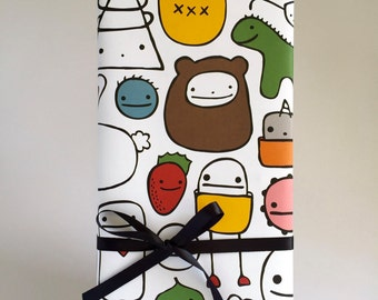 Happy Friend Time Wrapping Paper - Set of Two