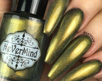 Buer - Chameleon Holographic Nail Polish - Multichrome - Green Gold Shift - Daemonum Collection