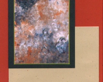 Blank Note Card - Untitled Number 106 Fine Art Card