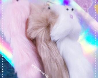 Fuzzy Royal Dogs Earring