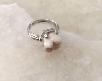 Genuine Human Molar Ring