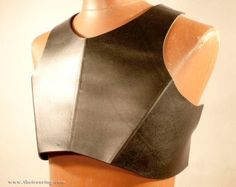 RENEGADE leather torso armor, front piece only for larp