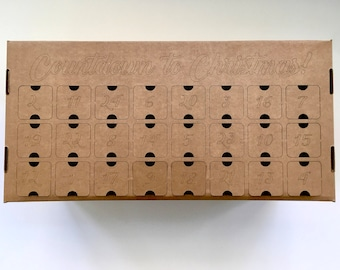 DIY Advent Calendar box