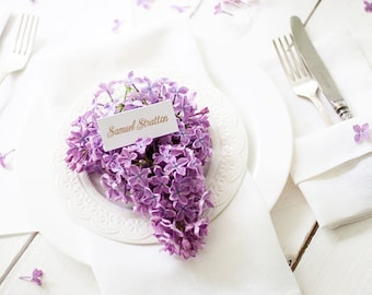 White linen napkins set of 6 - wedding napkin cloths - white napkins - Dinner napkins - coctail napkins