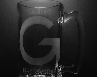Guilford Railway System 25 Ounce Beer Mug