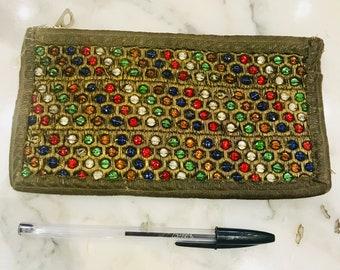 Pretty 1940s beaded purse