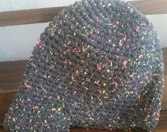Crochet Beanie with Brim