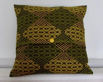 Pillows with vintage fabric