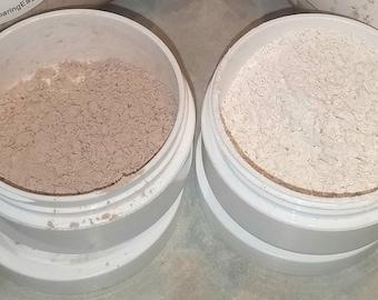 All Natural and Organic Dry Shampoo / Dark Hair Dry Shampoo / Light Hair Dry Shampoo / Natural Hair Care / Organic Hair Care / Shaker Bottle