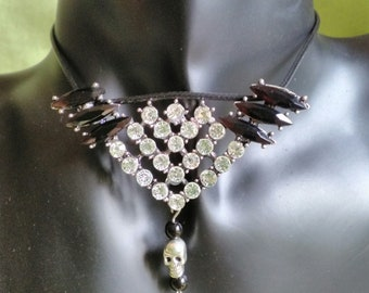 """Glam Rock 2. """"Rock""""collection. Necklace"""