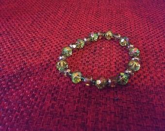 spring green bracelet
