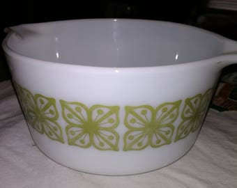 Pyrex Green Verde 1qt Casserole Dish