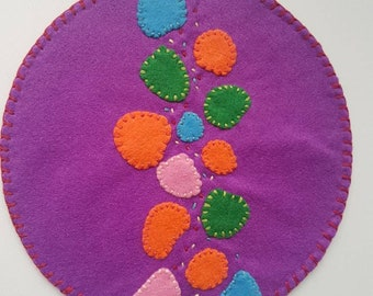 Fairy Garden / Imaginery / Felt Play Mat / Pretend Play / Small World / Felt / Montessori / Waldorf / Open Ended Play