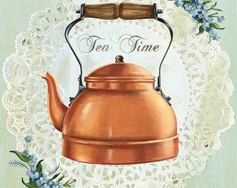 Tea Time Tea Lovers Print!