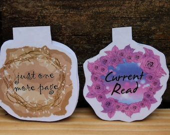 Bookish Magnetic Bookmarks