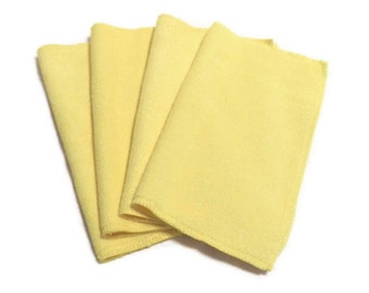Microfiber Swiffer Sweeper Pads- Set of 2- YELLOW- Refill- Reusable- Ecofriendly- 14003