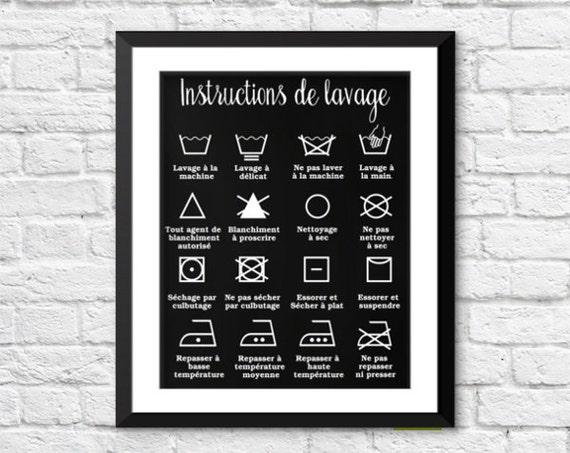 Dcor Maison Dcor Salle De Lavage Instructions De Lavage
