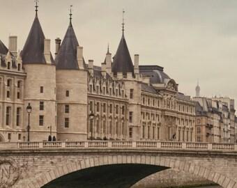 La Conciergerie, Paris, France, Instant Download, Digital, Printable Fine Art Photography, Wall Decor, High Resolution