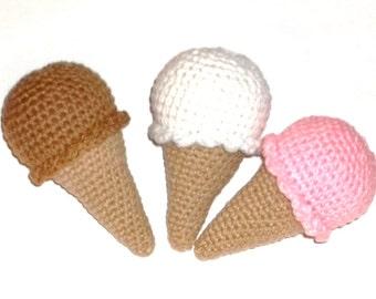 Cat Toy Catnip Ice Cream Cone