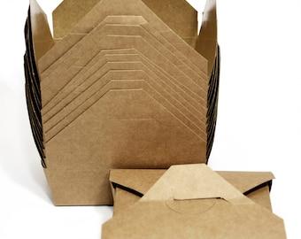 Mini Kraft Box (10) *  kraft box * party supplies* paper goods * packaging * picnics * disposables * candy box