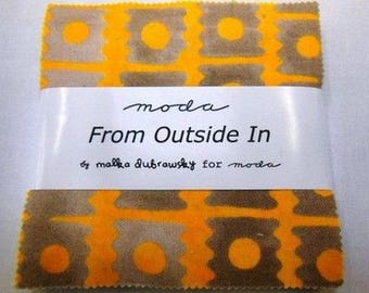 Charm pack Moda set in from outside patchwork fabric