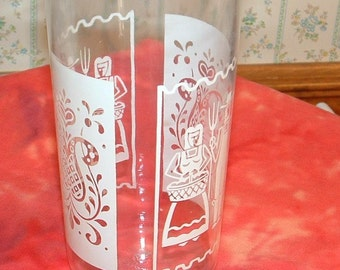 Vintage Anchor Hocking glass